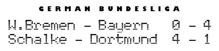 Bundesliga scores