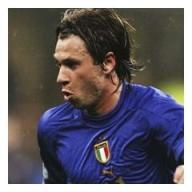 Antonio Cassano, age 25