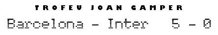 Trofeu Joan Gamper