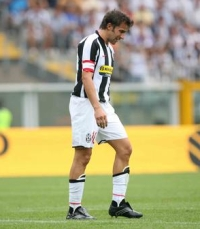 Rotten luck for the Juve captain today
