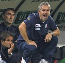 Roberto Donadoni, age 43, coach of the Italian national team