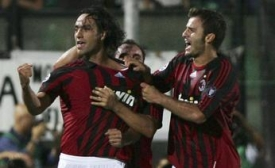 Alessandro Nesta is showing his determination after the equalizer