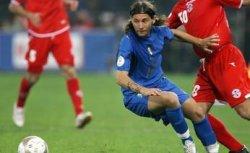 Pasquale Foggia in the match against Georgia