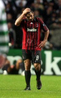 Even Gattuso's proverbial 'grinta' took a big hit tonight…
