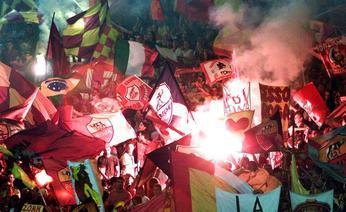 Giallorossi supporters
