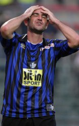 Zampagna can't believe it… he had the golden chance to win the game for Atalanta