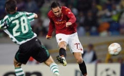 Cassetti-goal, Roma 1-0