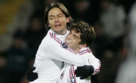 Inzaghi and Kaká celebrate, might Milan be back on the winning track?