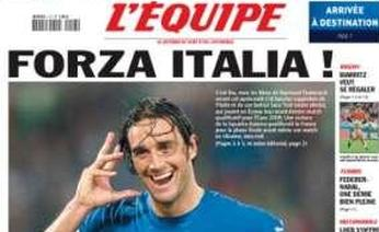 """Forza Italia!"" Even the French are on our side…"