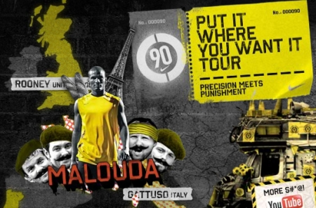Nike's 'Put it where you want it' tour ep. 4 - Florent Malouda