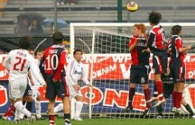 Pirlo's 30m lofted kick fools the keeper with its unpredictable trajectory