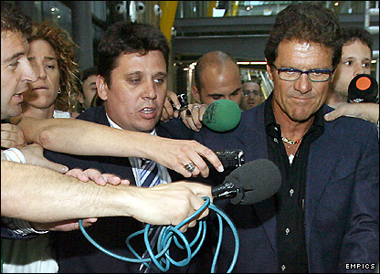 Capello should be able to handle the media intrusion as he has coached at Europe's top clubs for nearly two decades