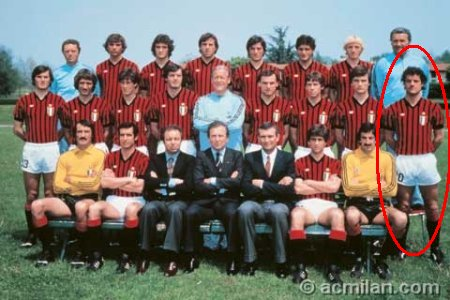 "The 4th and final Scudetto title for ""Capello-the-player"" was the one he won with AC Milan in 1978-79. It was coincidentally also Milan's 10th, which allowed the Rossoneri to put a golden star over their team logo."