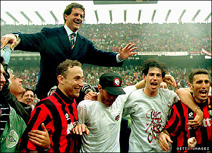 The 61-year-old made his managerial name with AC Milan, winning four Scudettos in five seasons