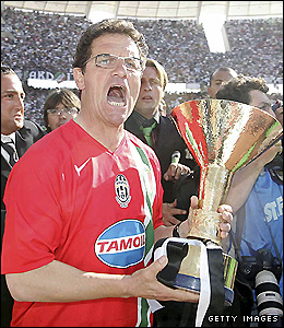 In 2006 Capello retained the Scudetto with Juventus but they were later stripped of the title after match-fixing allegations