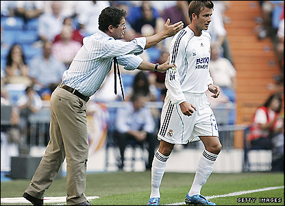 Will David Beckham feature in Capello's England squad after the pair had a much-publicised spat while at Real?
