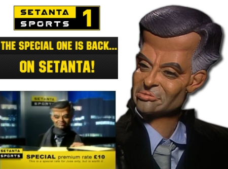 "José Mourinho: ""I'm on Setanta Sports"""