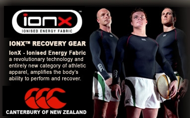 Canterbury of New Zealand - IonX Ionised Energy Fabric