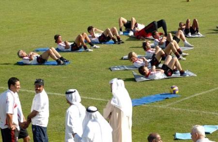 9.Milan Dubai practice3