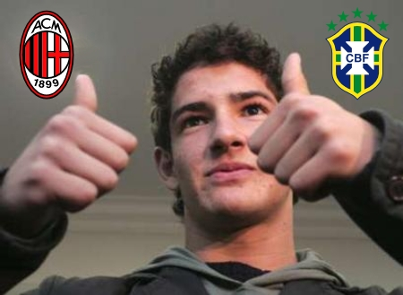 Alexandre Pato, age 18, in full force at AC Milan and the Brazilian national team
