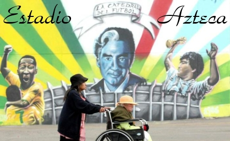 Azteca Graffiti - The Mythical World Cup Stadium Gets a Real Artistic Makeover
