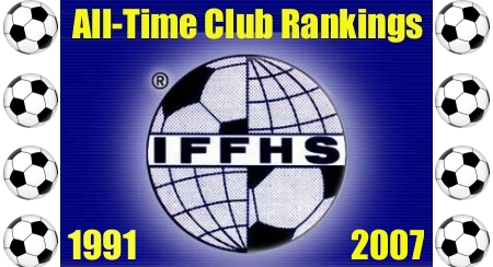 All-Time Club Rankings by the International Federation of Football History & Statistics (IFFHS)