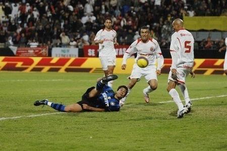 Luis Jiménez's acrobatic goal