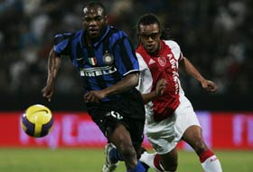 Inter's present being tailed by Inter's past: David Suazo vs. Edgar Davids