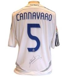 Fabio Cannavaro Real Madrid shirt