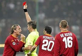 Philippe Mexès sees red against Inter