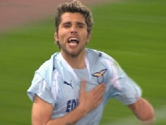 Valon Behrami's strike has just given Lazio the 3-2 victory over Roma