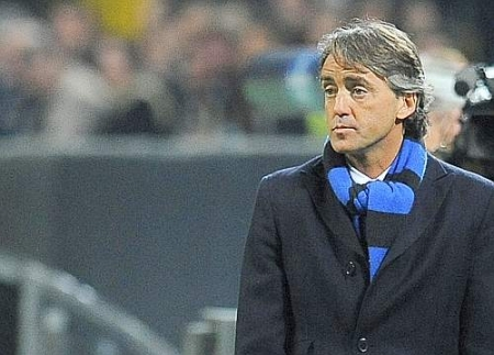 Roberto Mancini… at the end of his Inter manager career?