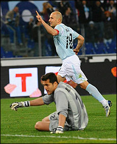 Tommaso Rocchi puts Lazio level