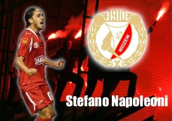 Stefano Napoleoni, age 21, Widzew Lodz striker