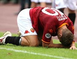 Francesco Totti, age 31