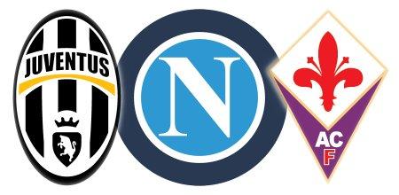 Juventus, Napoli, Fiorentina