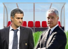 José Mourinho vs. Claudio Ranieri