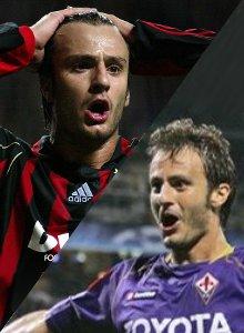 Alberto Gilardino, AC Milan and Fiorentina