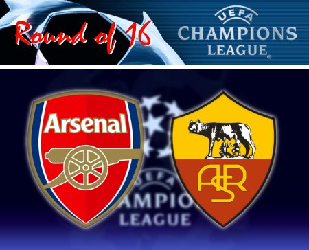 UEFA Champions League 2008-09 - Arsenal vs. Roma