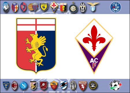 erie A 2008-09 - Genoa vs. Fiorentina