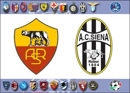 Serie A 2008-09 - Roma vs. Siena