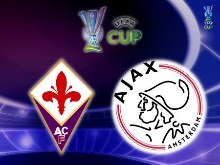 UEFA Cup 2008-09 - Fiorentina vs. Ajax