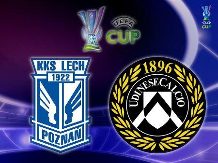 UEFA Cup 2008-09 - Lech Poznań vs. Udinese