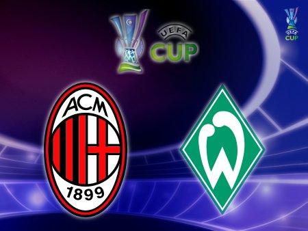 UEFA Cup 2008-09 - AC Milan vs. Werder Bremen