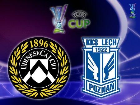 UEFA Cup 2008-09 - Udinese vs. Lech Poznań