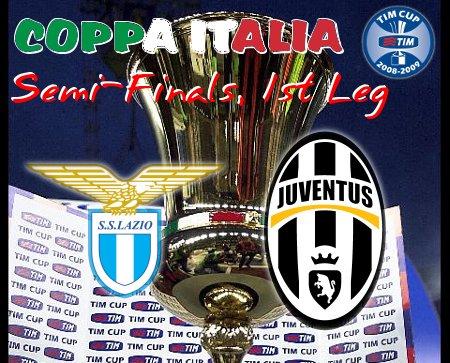 Coppa Italia 2008-09 - SF L1 - Lazio vs. Juventus