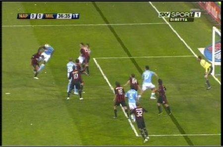 Marek Hamsik's onside goal for Napoli