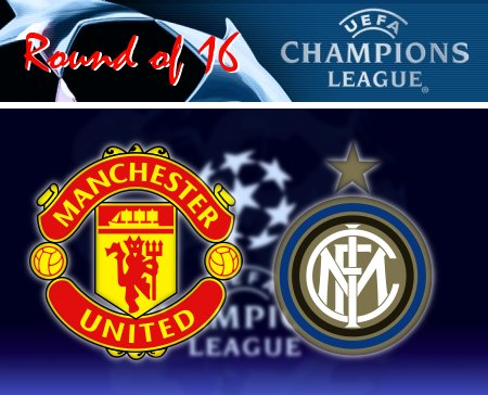 UEFA Champions League 2008-09 - Man Utd vs. Inter Milan