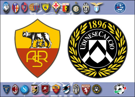 Serie A 2008-09 - Roma vs. Udinese