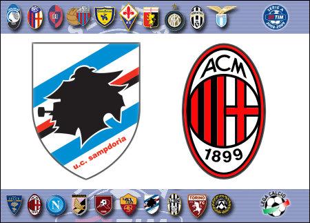 Serie A 2008-09 - Sampdoria vs. Milan